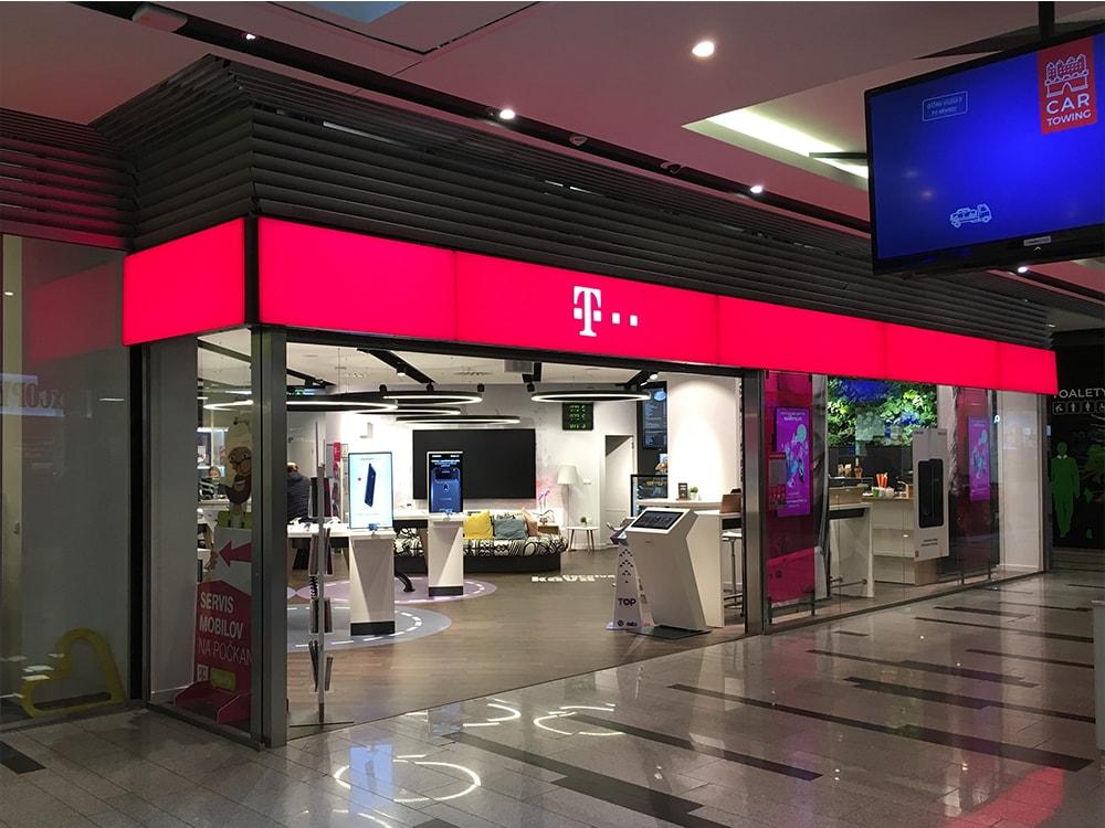 Obchodná prevádzka Telekom v Bratislave