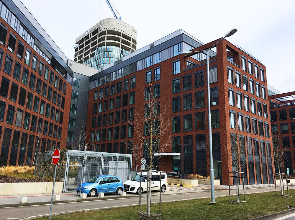 Kancelárie v administratívnej budove TWIN CITY A v Bratislave